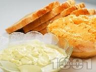Рецепта Домашен пастет / хайвер от тиквички с чесън, сметана и копър